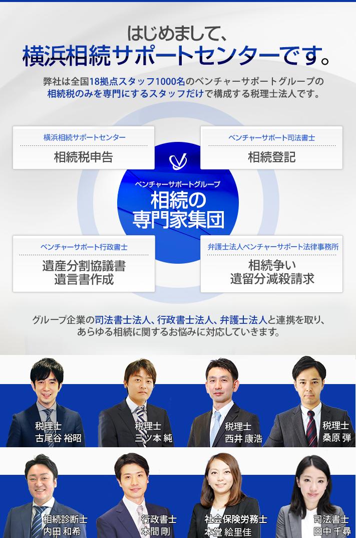 横浜相続サポートセンターです。